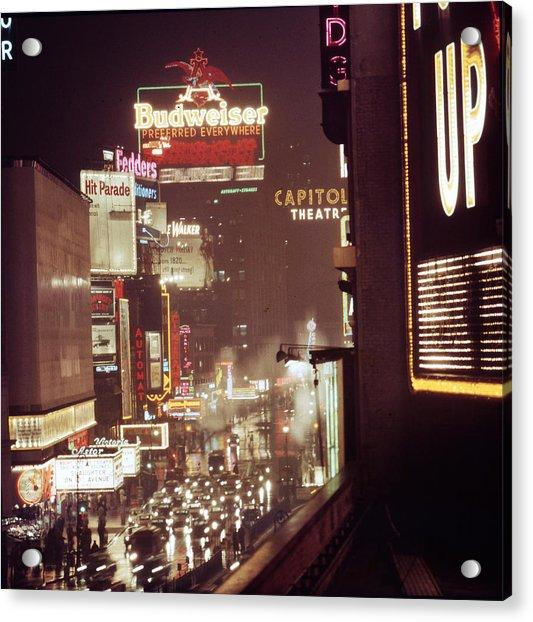 New York Acrylic Print by Andreas Feininger