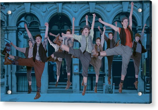 Newsies At The Artisan Center Theater Acrylic Print