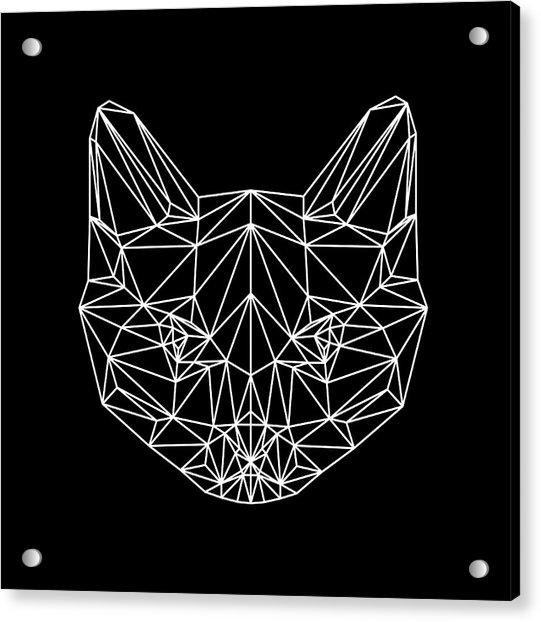 Night Cat Acrylic Print