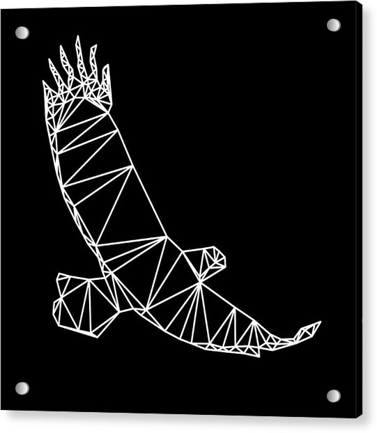 Night Eagle Acrylic Print