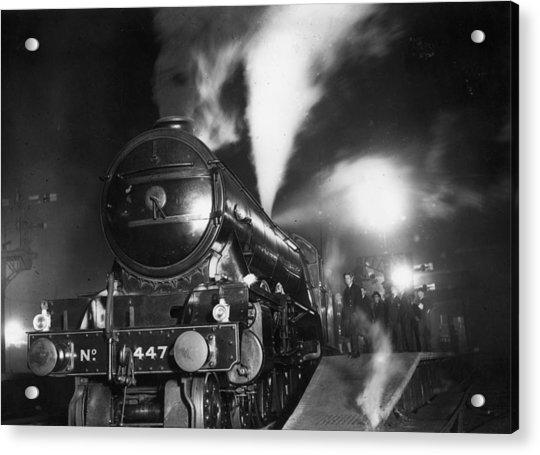 Night Train Acrylic Print by Topical Press Agency