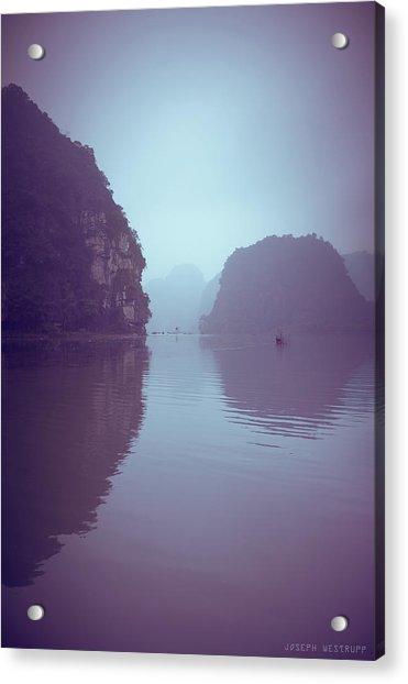 Ninh Binh River Acrylic Print