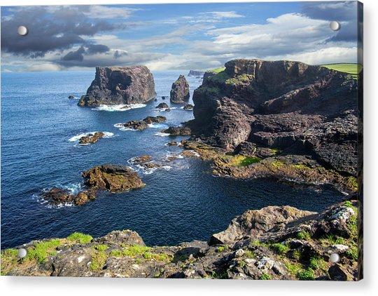 Northmavine Coast, Shetland Isles Acrylic Print