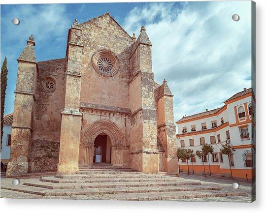 Parish Of Santa Marina Cordoba Spain II Acrylic Print