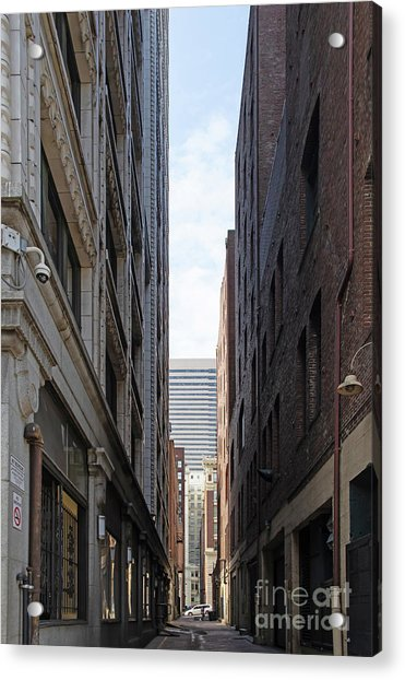 Pioneer Square Station Alley Between 2nd And 3rd Avenues Seattle Washington R1498 Acrylic Print