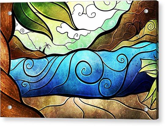 Playa Paraiso Acrylic Print