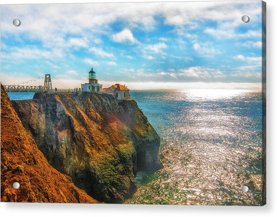Point Bonita Lighthouse Acrylic Print by Fernando Margolles