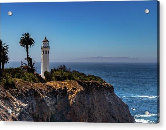 Point Vicente Lighthouse Acrylic Print