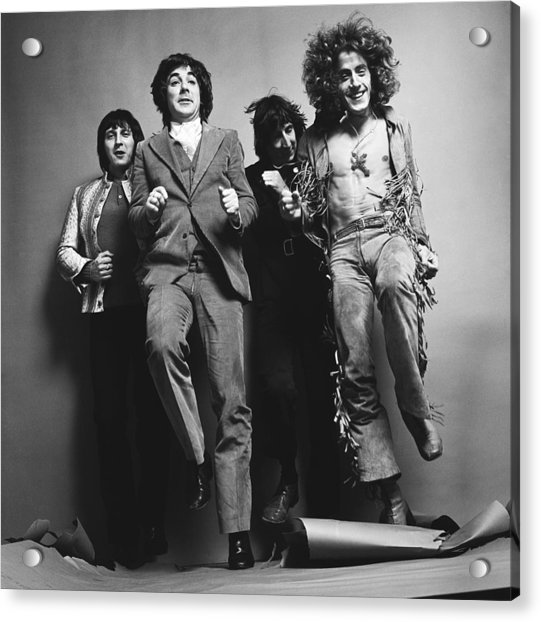 Portrait Of The Who Acrylic Print by Jack Robinson
