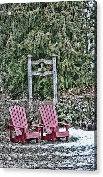Prop Chairs Acrylic Print
