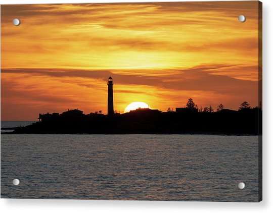 Acrylic Print featuring the photograph Punta Secca by Mirko Chessari