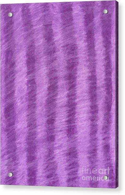 Purple Hazy Nights Acrylic Print