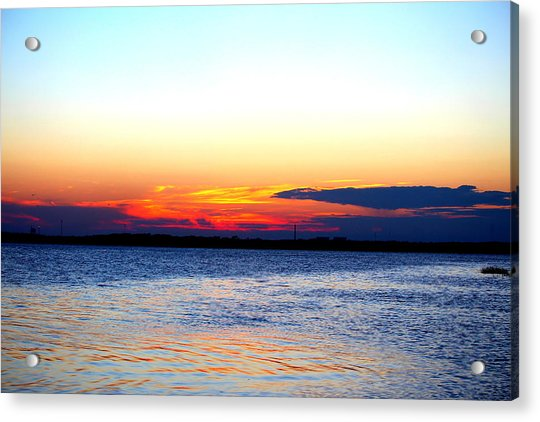 Acrylic Print featuring the photograph Radiant Sunset by Cynthia Guinn