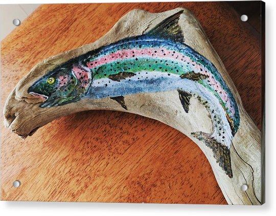 Rainbow Trout #1 Acrylic Print