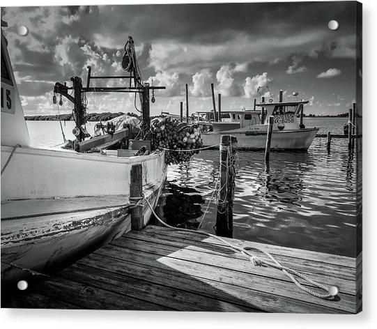 Ready To Go In Bw Acrylic Print