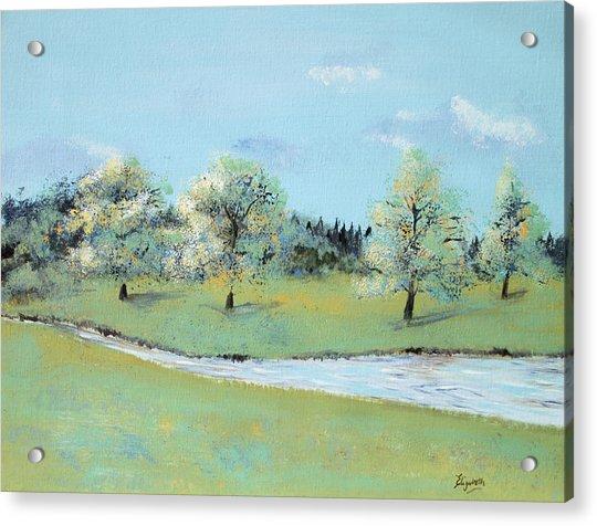 River Windrush Acrylic Print