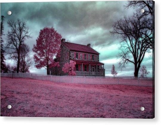Rose Farm In Infrared Acrylic Print