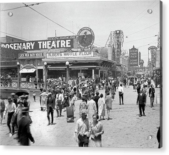 Rosemary Theater Santa Monica Acrylic Print
