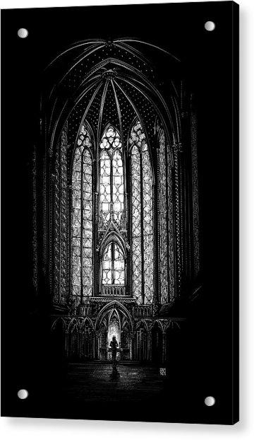 Sainte-chapelle Acrylic Print