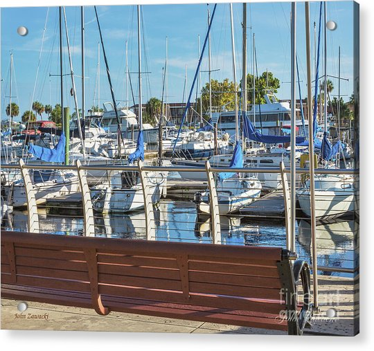 Sanford Riverwalk-6701-a Acrylic Print