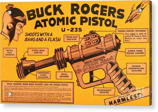 Science Fiction Buck Rogers Atomic Disintegrator Gun Pistol 20190820 V2 Acrylic Print
