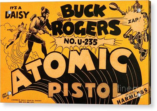 Science Fiction Buck Rogers Atomic Disintegrator Gun Pistol 20190820 Acrylic Print