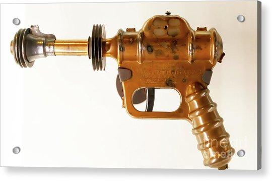 Science Fiction Buck Rogers Atomic Disintegrator Gun R1069 Acrylic Print