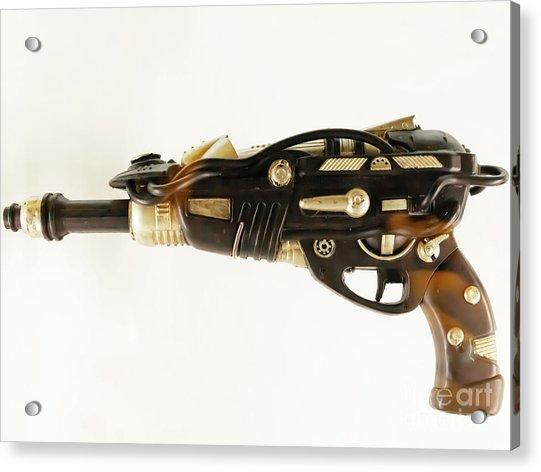 Science Fiction Laser Ray Gun R1070 Acrylic Print