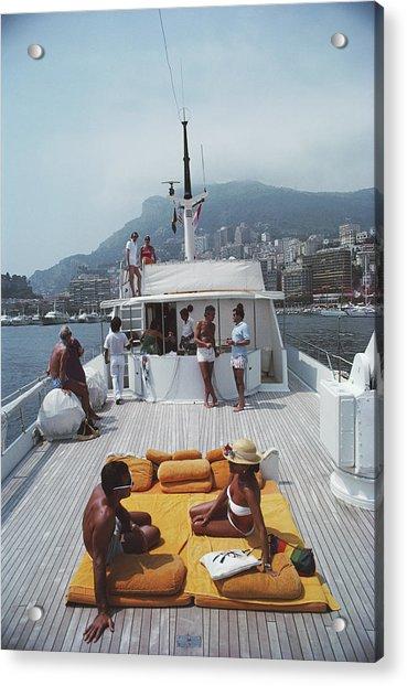 Scottis Yacht Acrylic Print