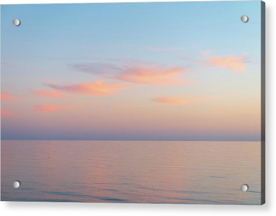 Acrylic Print featuring the photograph Sea by Mirko Chessari