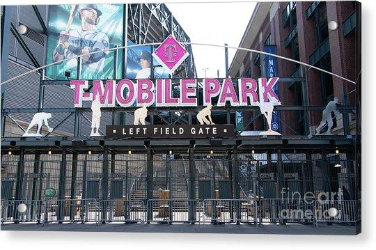Seattle Mariners Baseball T-mobile Park Seattle Washington R1431 Long Acrylic Print