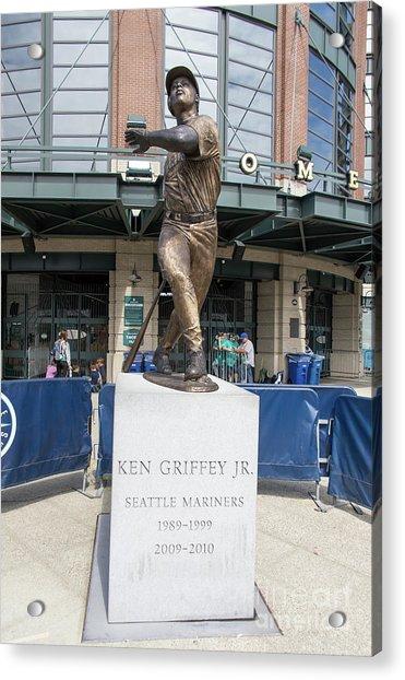 Seattle Mariners Baseball T-mobile Park Seattle Washington R1436 Acrylic Print