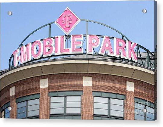 Seattle Mariners Baseball T-mobile Park Seattle Washington R1452 Acrylic Print