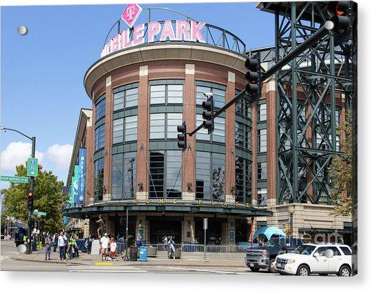 Seattle Mariners Baseball T-mobile Park Seattle Washington R1455 Acrylic Print
