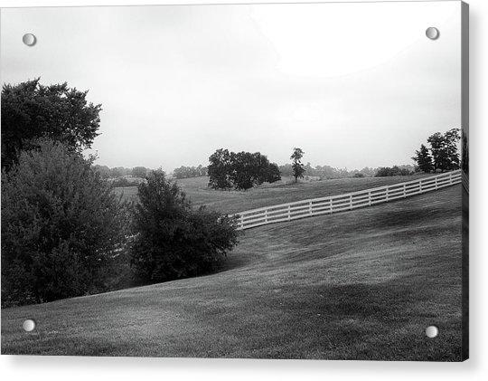 Shaker Field Acrylic Print