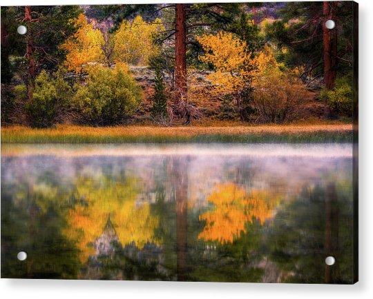 Silver Lake - Breath Of Air Acrylic Print
