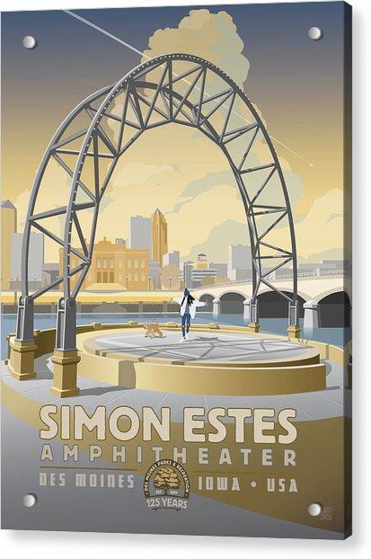 Simon Estes Amphitheater Acrylic Print
