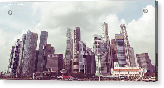 Singapore Cityscape The Second Acrylic Print