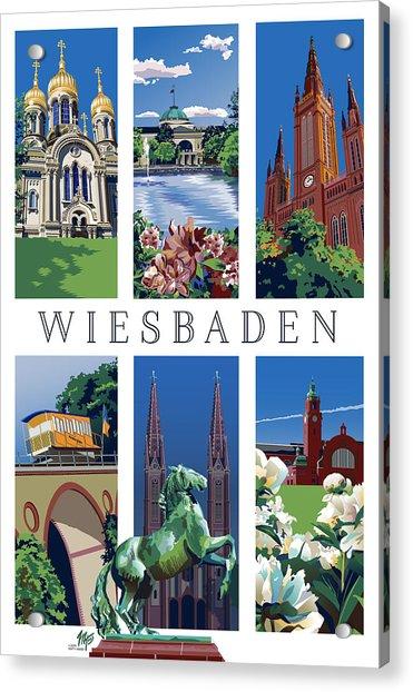 Six Views Of Wiesbaden Acrylic Print