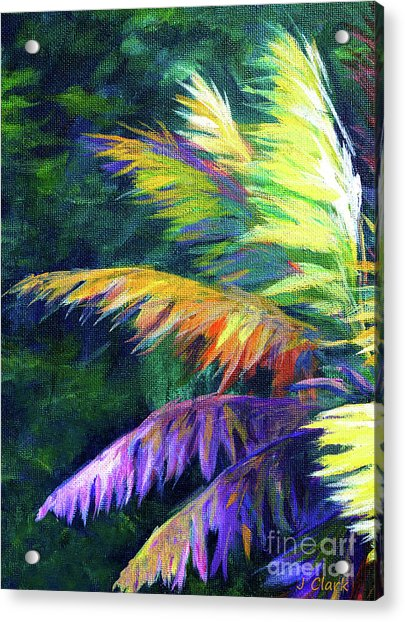 Soft Palm Acrylic Print