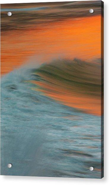 Soft Wave Acrylic Print