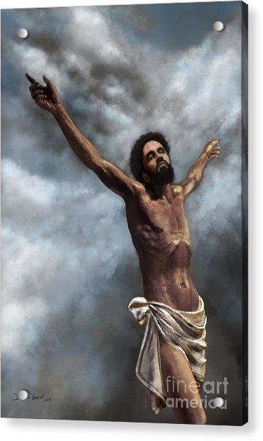 Acrylic Print featuring the digital art Son Of God by Dwayne Glapion
