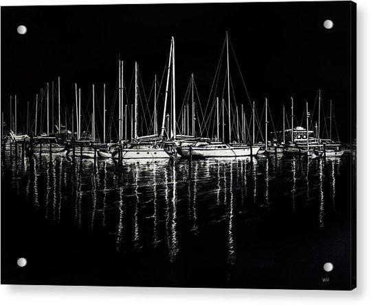 South Yacht Club Acrylic Print
