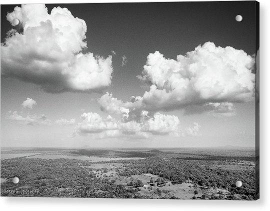 Sri Lankan Clouds In Black Acrylic Print