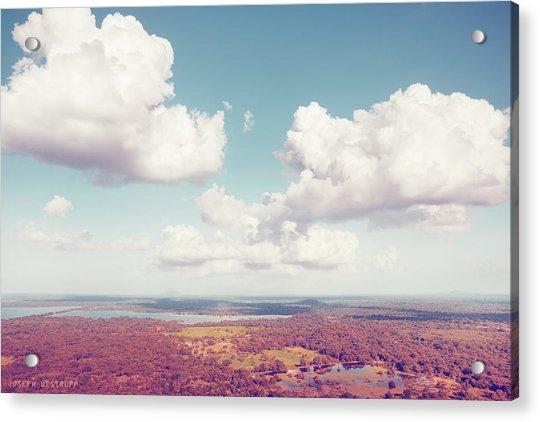 Sri Lankan Clouds In Pastel Acrylic Print