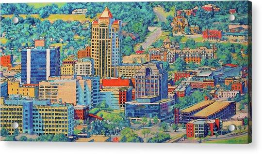 Star City Of The South - Roanoke Virginia Acrylic Print