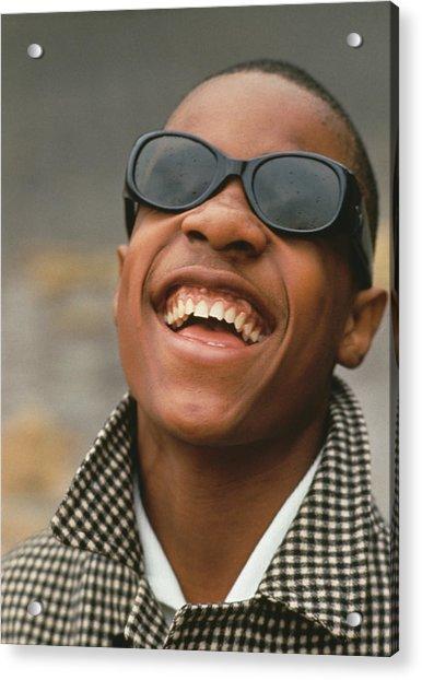 Stevie Wonder Acrylic Print by Archive Photos