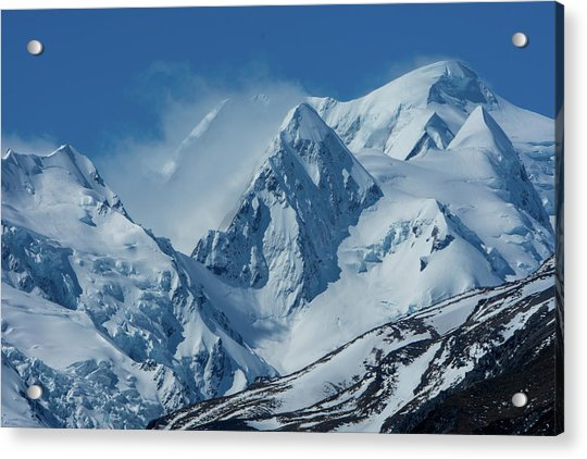 Summer Winds In Mount Cook National Park Acrylic Print