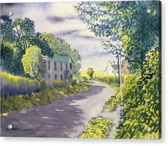 Sunny Side Of The Street Acrylic Print