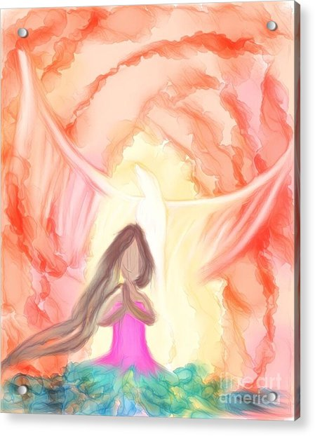 Sweet Hour Of Prayer Acrylic Print